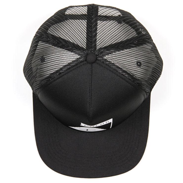 ポーラー POLER 正規販売店 帽子 キャップ SUMMIT MESH TRUCKER CAP 55300007-BLK BLACK A79B B3C C3D D4E E13F