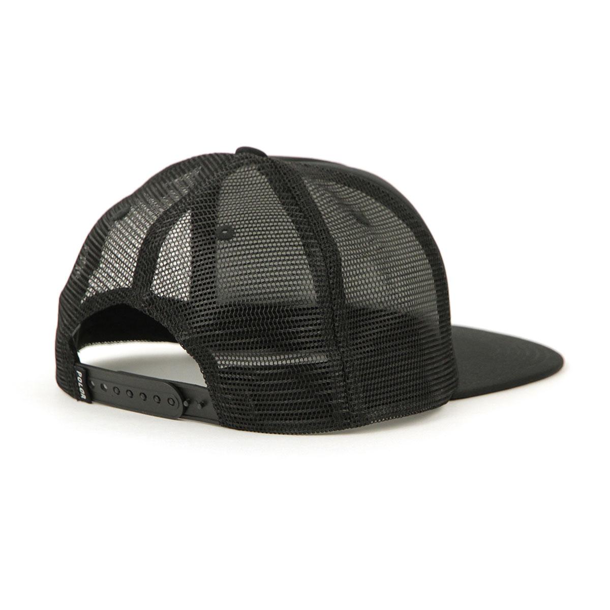 ポーラー POLER 正規販売店 キャップ 帽子 PSYCHEDELIC MESH TRUCKER CAP 55100004-BLK BLACK A79B B3C C3D D4E E13F
