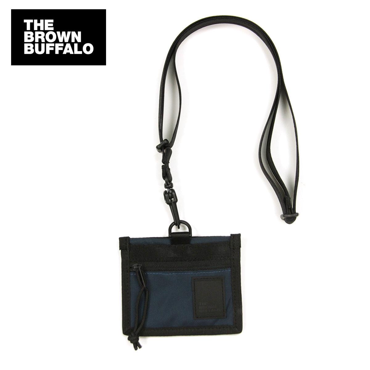 ザ ブラウン バッファロー カードケース メンズ レディース 正規販売店 THE BROWN BUFFALO パスケース NECK POUCH NAVY S19NECK420NAVY AA7B B3C C3D D3E E06F