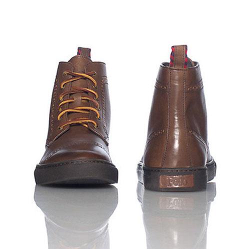 ポロ ラルフローレン POLO RALPH LAUREN 正規品 靴 JARROD CAP TOE BROWN A05B B1C C4D D1E E04F
