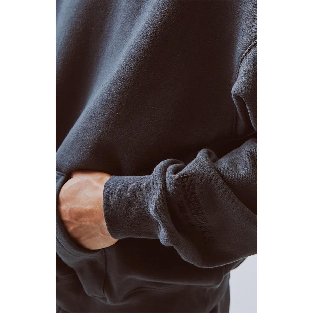フィアオブゴッド パーカー 正規品 FEAR OF GOD エッセンシャルズ プルオーバーパーカー FOG - FEAR OF GOD ESSENTIALS 3M LOGO PULLOVER HOODIE BLACK/BLACK AA5B B1C C1D D5E E13F