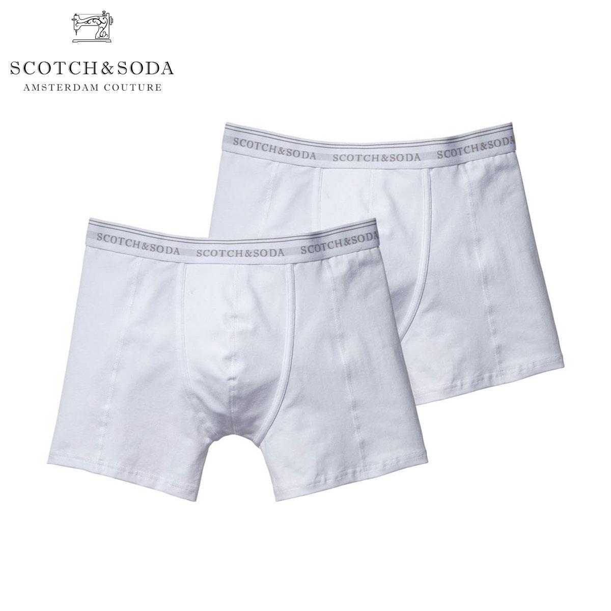 スコッチアンドソーダ SCOTCH&SODA 正規販売店 メンズ ボクサーパンツ BASIC BOXERSHORT 2-PACK 124904 A 49991 DESSIN  A39B B1C C7D D2E E01F