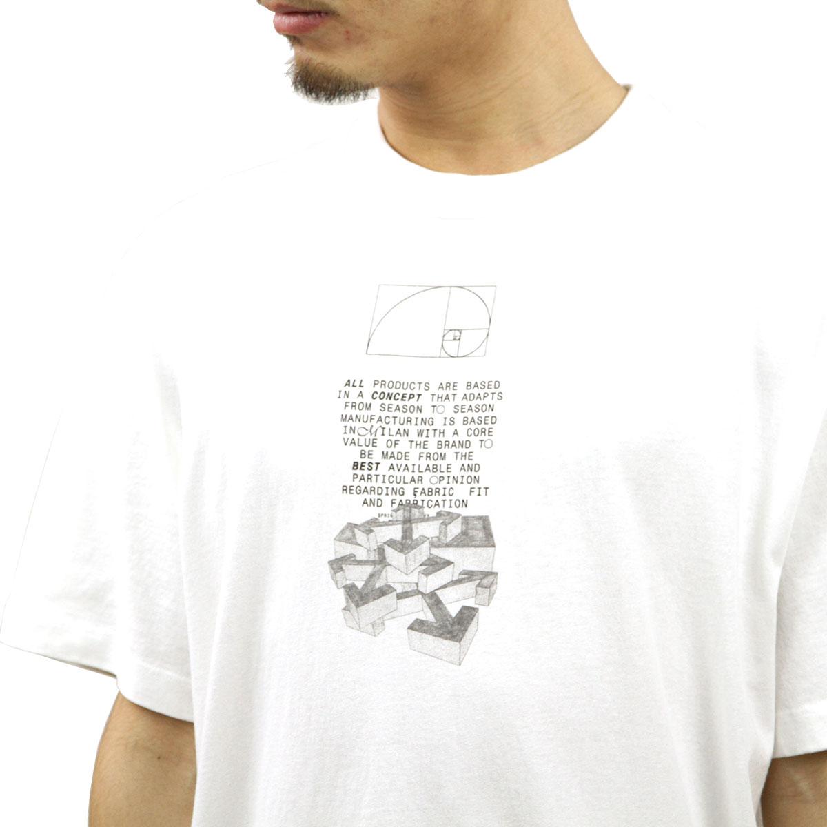 オフホワイト Tシャツ メンズ 正規品 OFF-WHITE 半袖Tシャツ クルーネックTシャツ DRIPPING ARROWS S/S OVER TEE WHITE BLACK OMAA038R201850050110 AB3B B1C C1D D1E E01F