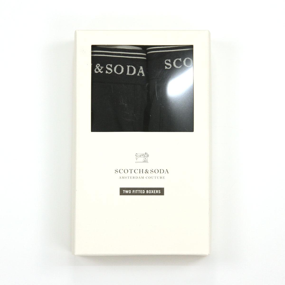 スコッチアンドソーダ SCOTCH&SODA 正規販売店 メンズ ボクサーパンツ BASIC BOXERSHORT 2-PACK 124904 D 49991 DESSIN  A39B B1C C7D D2E E13F