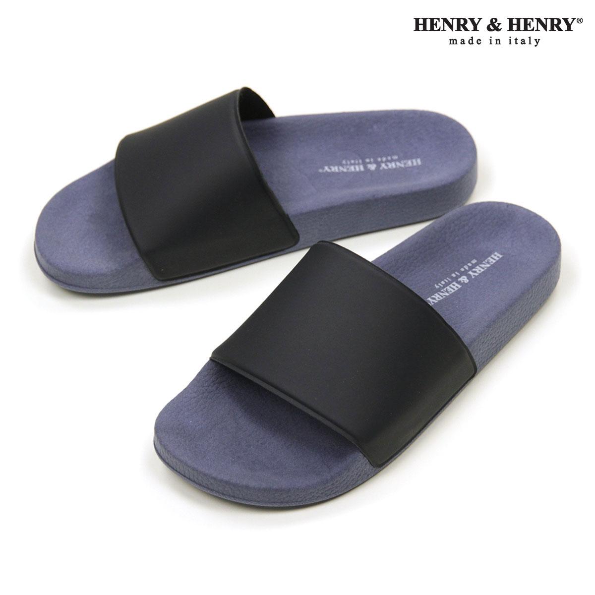 ヘンリーアンドヘンリー HENRY&HENRY 正規販売店 サンダル 180 SHOWER SANDAL NAVY 28 A66B B3C C4D D3E E06F