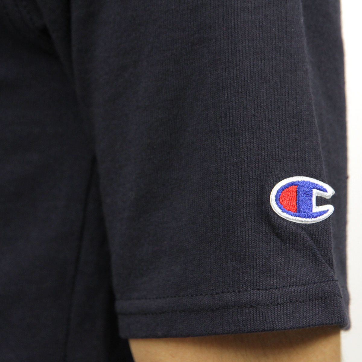 チャンピオン Tシャツ 正規品 CHAMPION 半袖Tシャツ  CREW TEE T1919P Heritage Tee 031-NAVY 549393 USA Arch AA4B B1C C1D D1E E06F