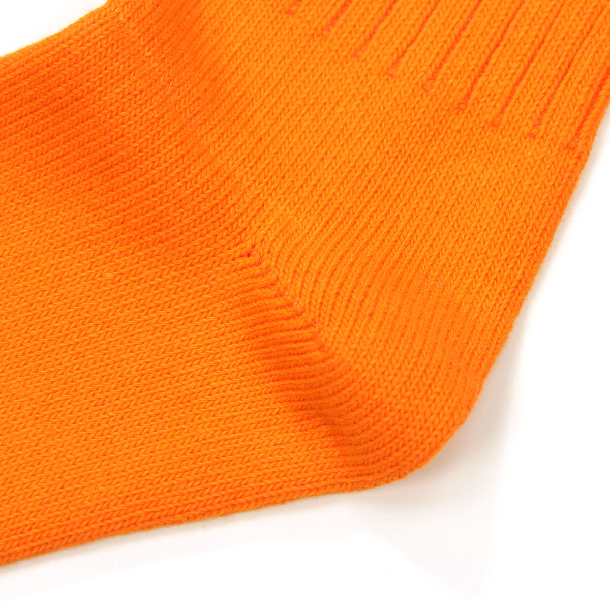 ポロ ラルフローレン ソックス メンズ 正規品 POLO RALPH LAUREN 靴下 クルーソックス COTTON RIB SINGLE SOCK ORANGE - GREEN 807 - ORANGE A05B B1C C7D D1E E10F