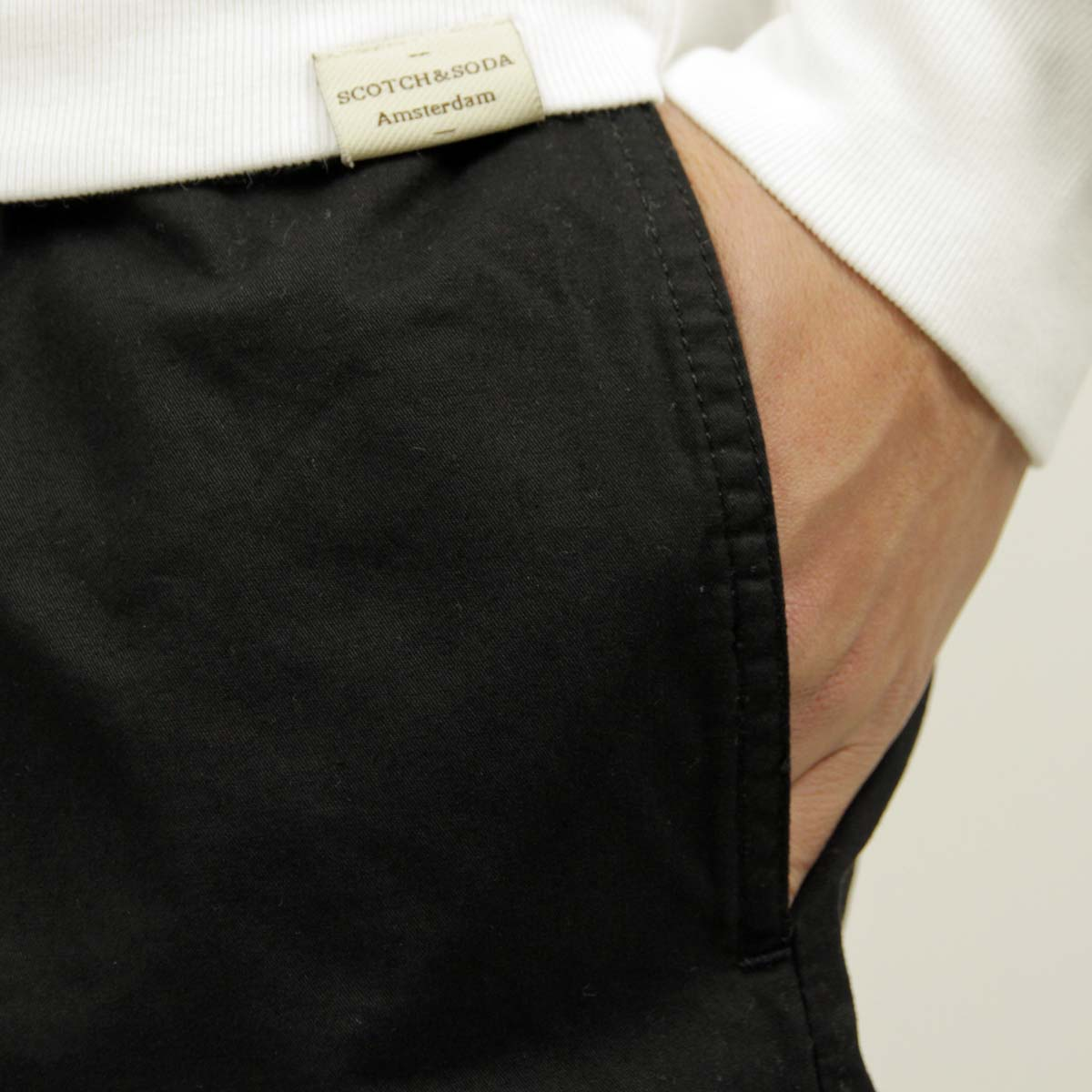 ゼンローブ ZANEROBE 正規販売店 メンズ チノ ショートパンツ ZEPHYR CHINO SHORT PANTS BLACK 601-FT A13B B1C C2D D4E E13F
