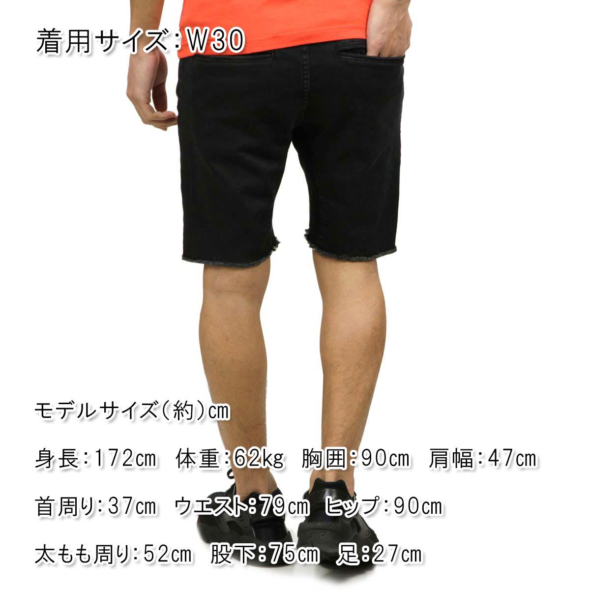 ゼンローブ ZANEROBE 正規販売店 メンズ デニム ショートパンツ SURESHOT DENIM SHORT PANTS BLACK WASH 605-TDK A13B B1C C2D D1E E13F