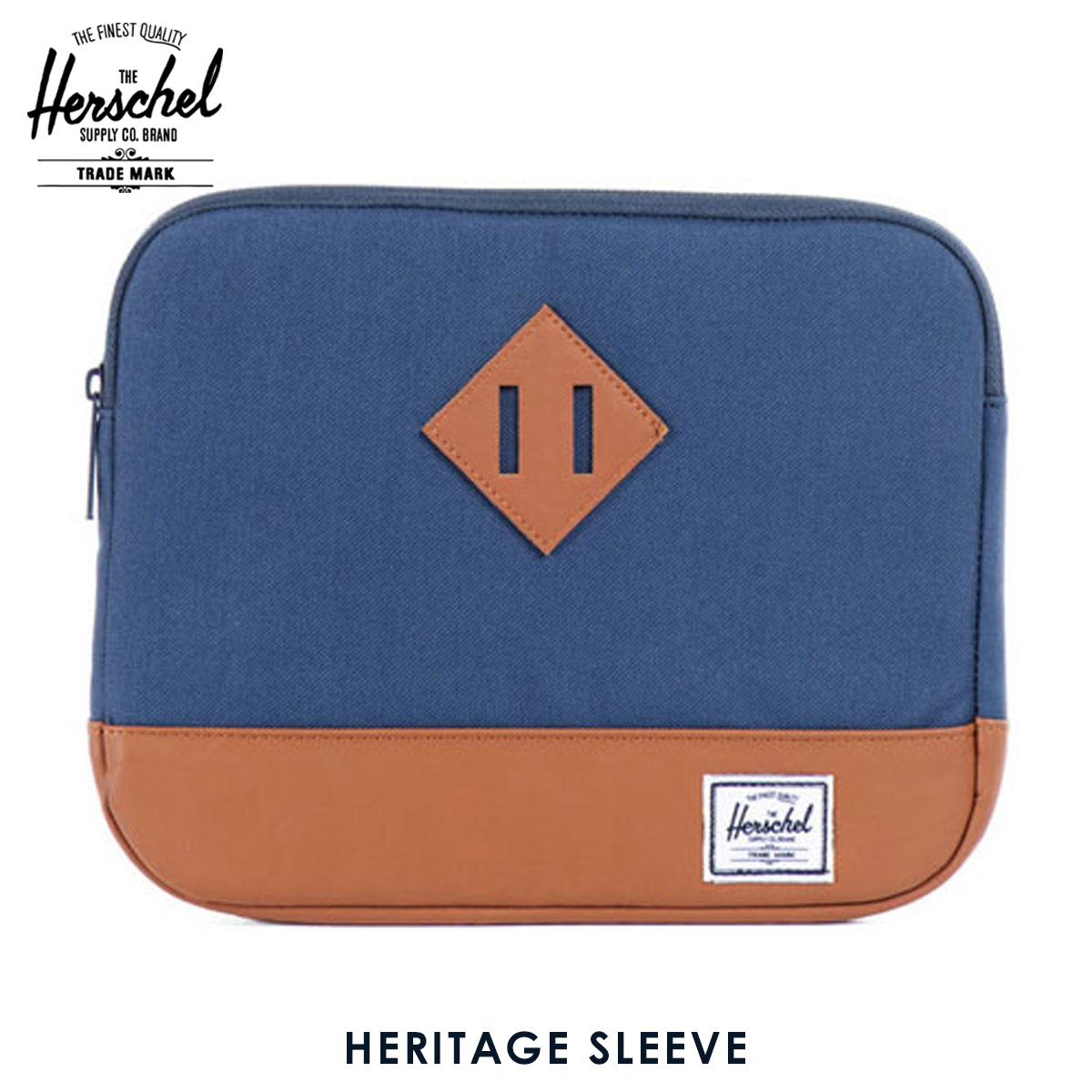 ハーシェル タブレットケース 正規販売店 Herschel Supply ハーシェルサプライ iPad Air ケース Heritage Sleeve for iPad Air Sleeves 10177-00007-OS Navy A52B B3C C3D D0E E06F
