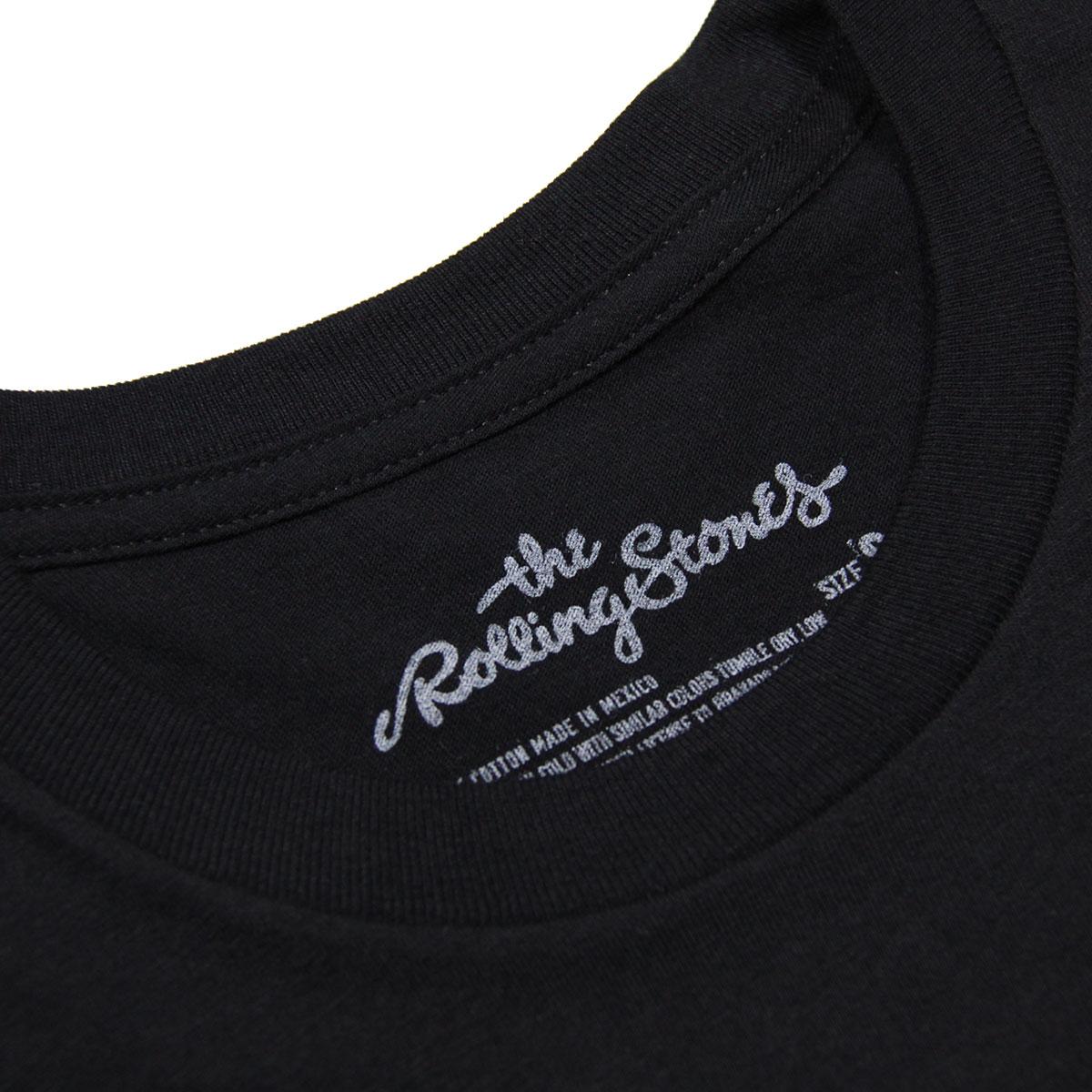 ミュージックティ バンドTシャツ メンズ 正規品 MUSIC TEE フォトT ロックTシャツ 半袖Tシャツ ザ・ローリング・ストーンズ キース・リチャーズ THE ROLLING STONES KEITH SMOKE MUSIC TEE AB5B B1C C1D D1E E13F