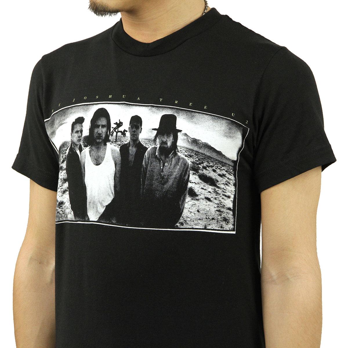 ミュージックティ バンドTシャツ メンズ 正規品 MUSIC TEE フォトT ロックTシャツ 半袖Tシャツ U2 ヨシュア・トゥリー U2 JOSHUA TREE MUSIC TEE AB5B B1C C1D D1E E13F