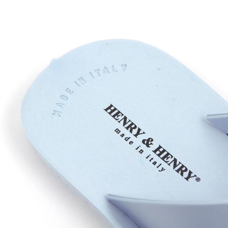 ヘンリーアンドヘンリー HENRY&HENRY 正規販売店 サンダル CROSS SANDAL AZZURO A66B B3C C4D D3E E07F