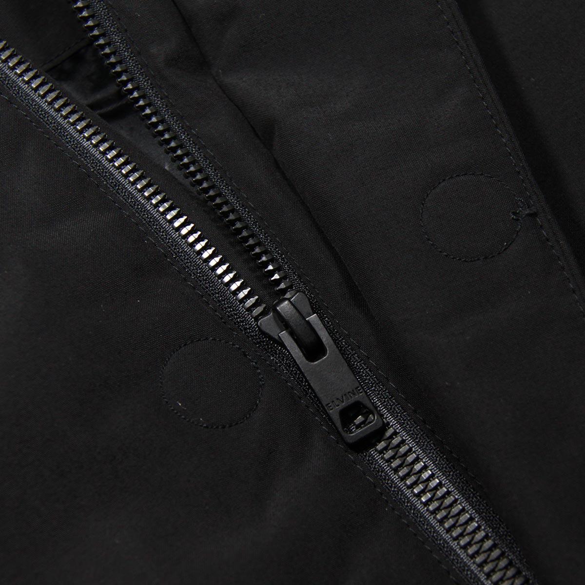 エルバイン アウター メンズ 正規販売店 elvine ジャケット ナイロンジャケット BARNARD NYLON JACKET 330100 110 BLACK A91B B1C C1D D4E E13F