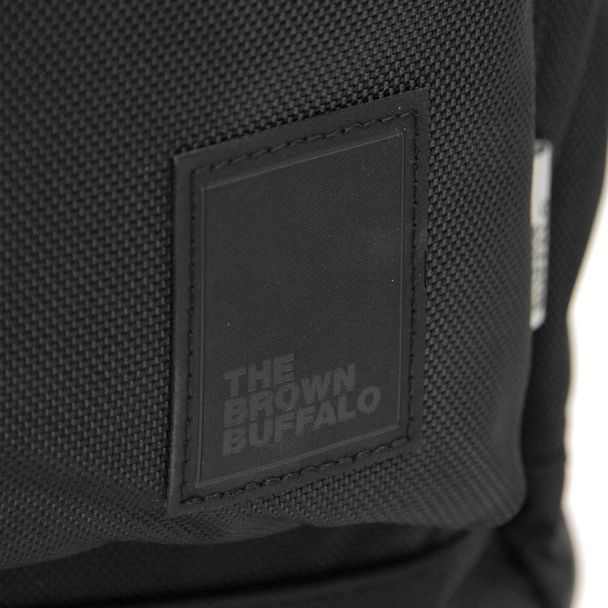 ザ ブラウン バッファロー バックパック メンズ レディース 正規販売店 THE BROWN BUFFALO リュックサック バッグ HILLSIDE BACKPACK BALLISTIC BLACK S19HB1680BLACK AA7B B3C C8D D3E E13F