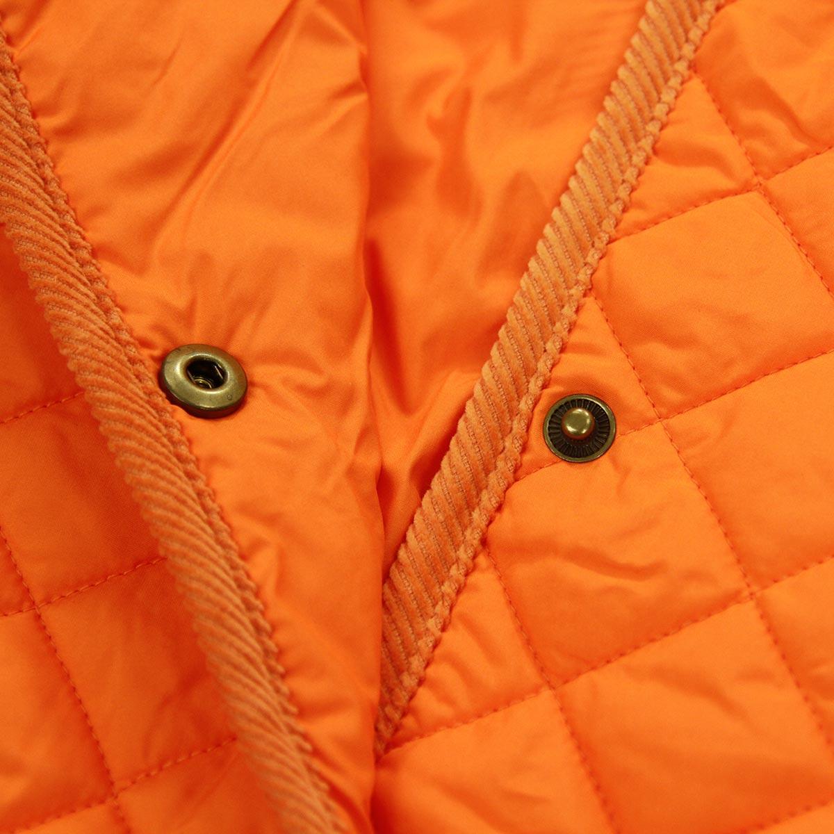 ポロ ラルフローレン キッズ POLO RALPH LAUREN CHILDREN 正規品 子供服 ガールズ キルティングジャケット Shawl-Collar Quilted Jacket #22469976 ORANGE A63B B6C C1D D4E E10F
