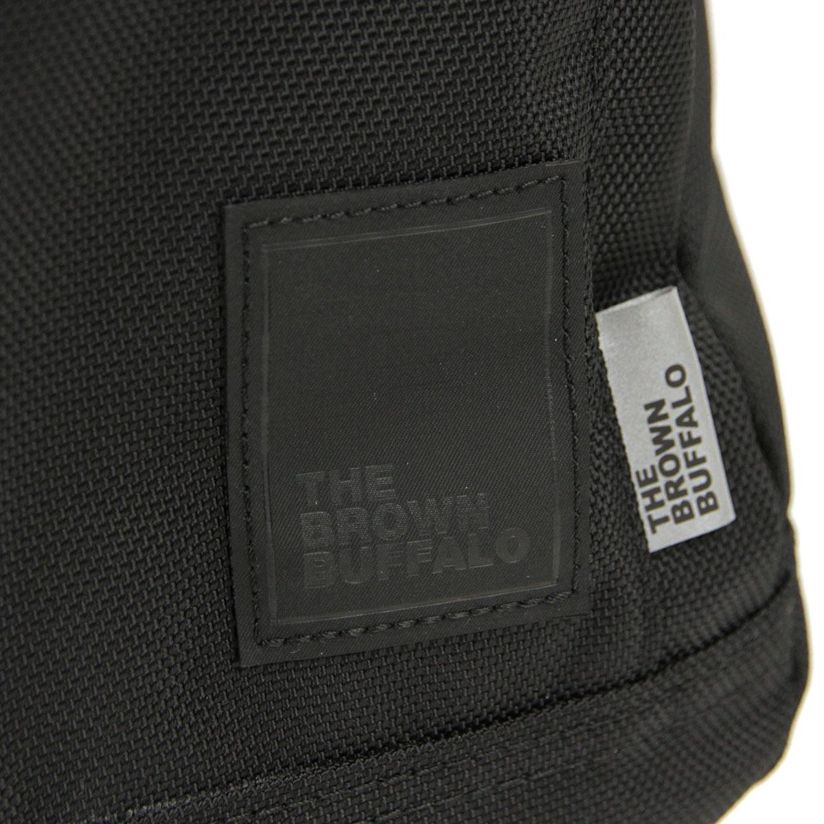 ザ ブラウン バッファロー バックパック メンズ レディース 正規販売店 THE BROWN BUFFALO リュックサック バッグ CONCEAL BACKPACK BALLISTIC BLACK S19CB1680BLACK AA7B B3C C8D D3E E13F