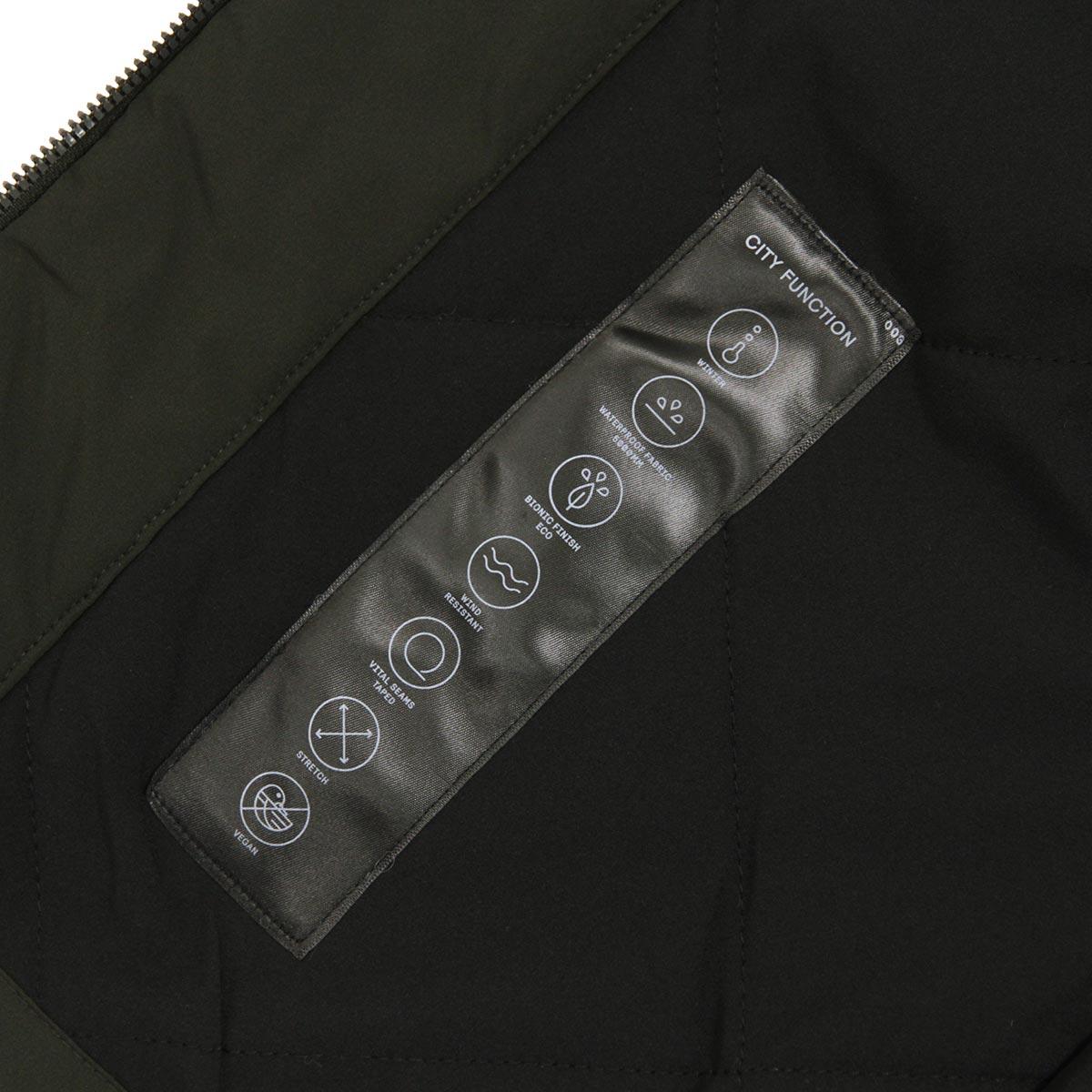 エルバイン アウター メンズ 正規販売店 elvine ジャケット ナイロンジャケット COLE NYLON JACKET 193004 355 GREEN KHAKI A91B B1C C1D D4E E05F