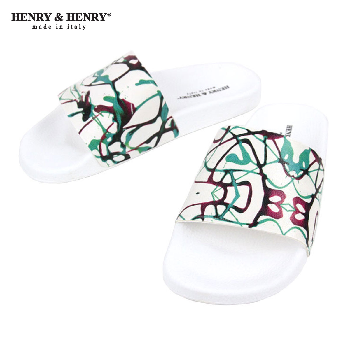 ヘンリーアンドヘンリー HENRY&HENRY 正規販売店 サンダル 180 SYNTHETIC SCHIZZI VERDE A66B B3C C4D D3E E01F