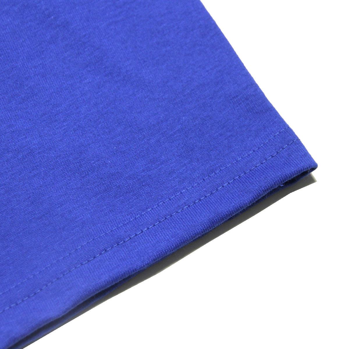 プロクラブ Tシャツ メンズ 正規販売店 PROCLUB 半袖Tシャツ クルーネックTシャツ HEAVY WEIGHT COTTON SHORT SLEEVE CREW NECK T-SHIRT ROYAL BLUE #101 AB6B B1C C1D D1E E07F