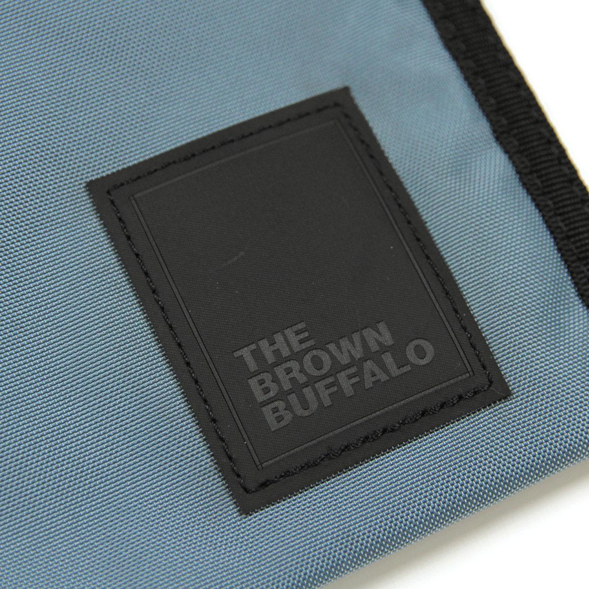 ザ ブラウン バッファロー バッグ メンズ レディース 正規販売店 THE BROWN BUFFALO ショルダーバッグ ボディバッグ PACKERSLING BLUE GREY F19PS420BLUEGREY AA7B B3C C8D D4E E07F