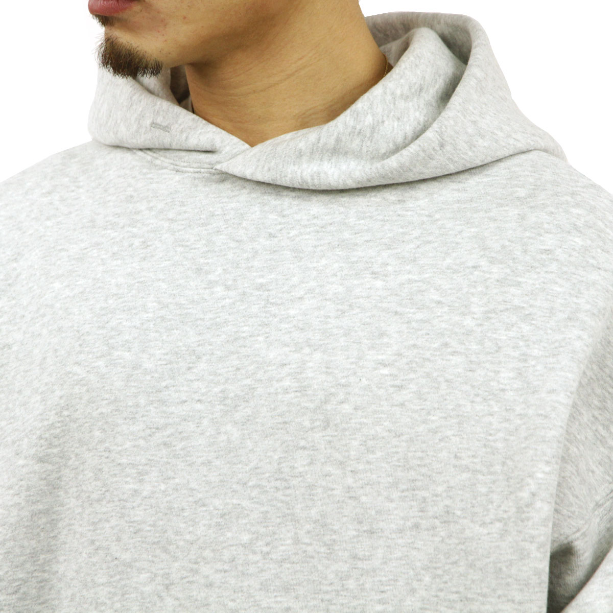 フィアオブゴッド パーカー メンズ 正規品 FEAR OF GOD プルオーバーパーカー  FOG - FEAR OF GOD ESSENTIALS GRAPHIC PULLOVER HEATHER GREY AA5B B1C C1D D5E E02F