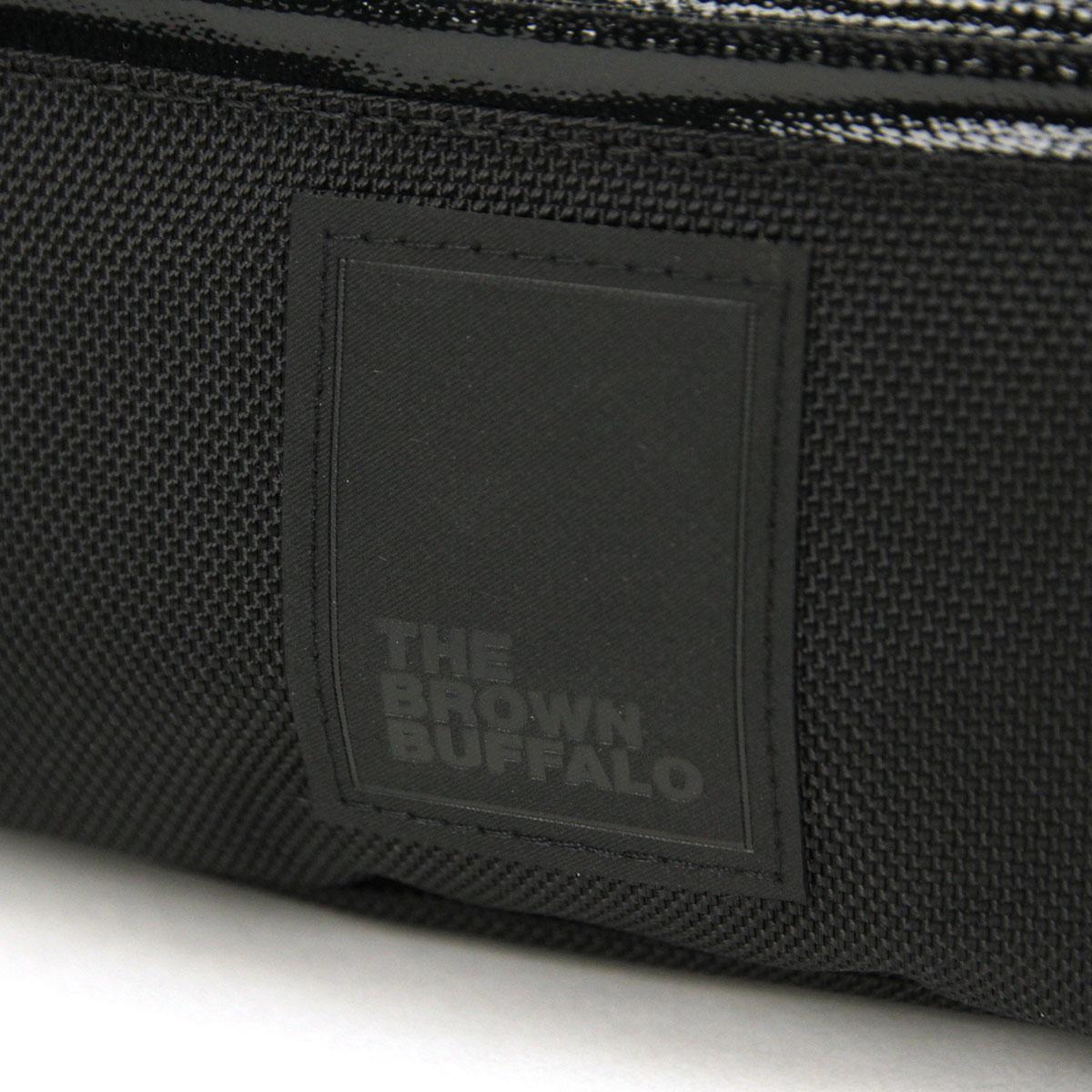 ザ ブラウン バッファロー バッグ メンズ レディース 正規販売店 THE BROWN BUFFALO ショルダーバッグ BEYONDSLING BALLISTIC BLACK S19BS1680BLACK AA7B B3C C8D D4E E13F
