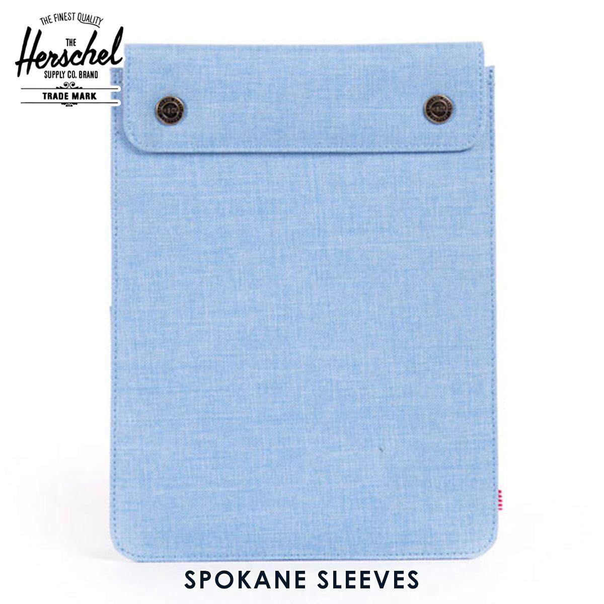 ハーシェル タブレットケース 正規販売店 Herschel Supply ハーシェルサプライ iPad Air ケース Spokane Sleeve for iPad Air Sleeves 10192-00574-OS Chambray Crosshatch A52B B3C C3D D0E E07F