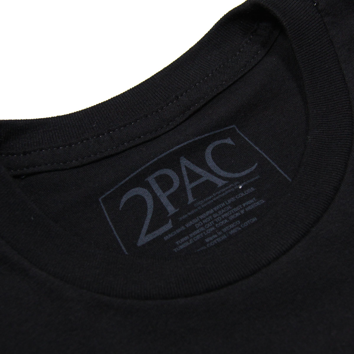 ミュージックティ バンドTシャツ メンズ 正規品 MUSIC TEE フォトT ロックTシャツ 半袖Tシャツ トゥーパック 2パック 2PAC POP ART TEE MUSIC TEE AB5B B1C C1D D1E E13F