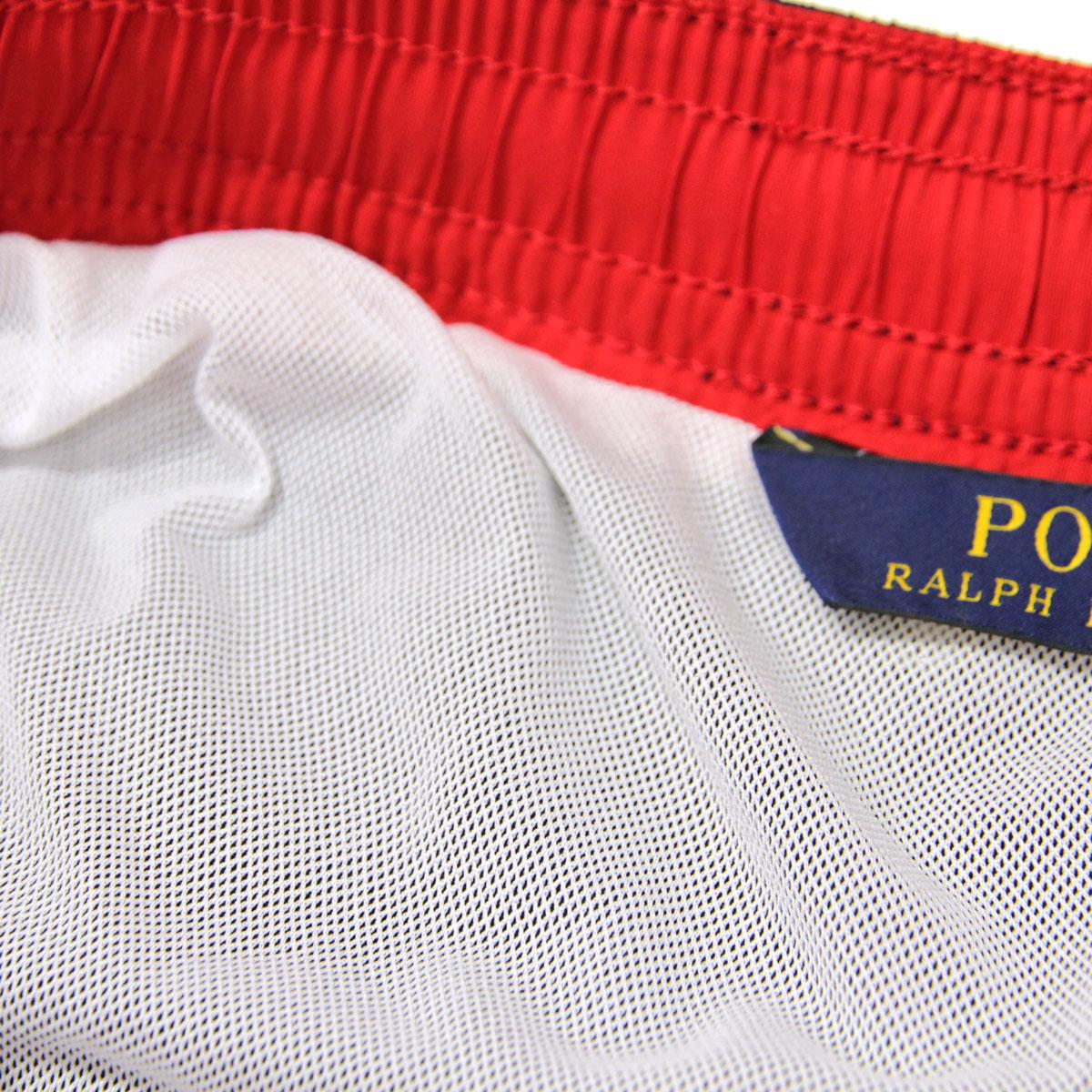 ポロ ラルフローレン 水着 メンズ 正規品 POLO RALPH LAUREN スイムパンツ  POLO SWIM TRUNK A05B B1C C2D D7E E06F
