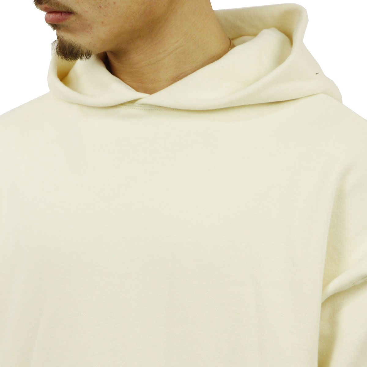 フィアオブゴッド パーカー メンズ 正規品 FEAR OF GOD プルオーバーパーカー  FOG - FEAR OF GOD ESSENTIALS GRAPHIC PULLOVER CREAM AA5B B1C C1D D5E E18F