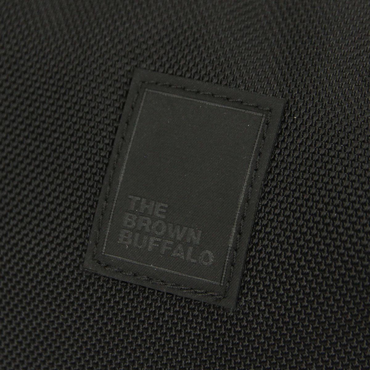 ザ ブラウン バッファロー バッグ メンズ レディース 正規販売店 THE BROWN BUFFALO ショルダーバッグ SUPPLYSLING BALLISTIC BLACK S19SS1680BLACK AA7B B3C C8D D4E E13F