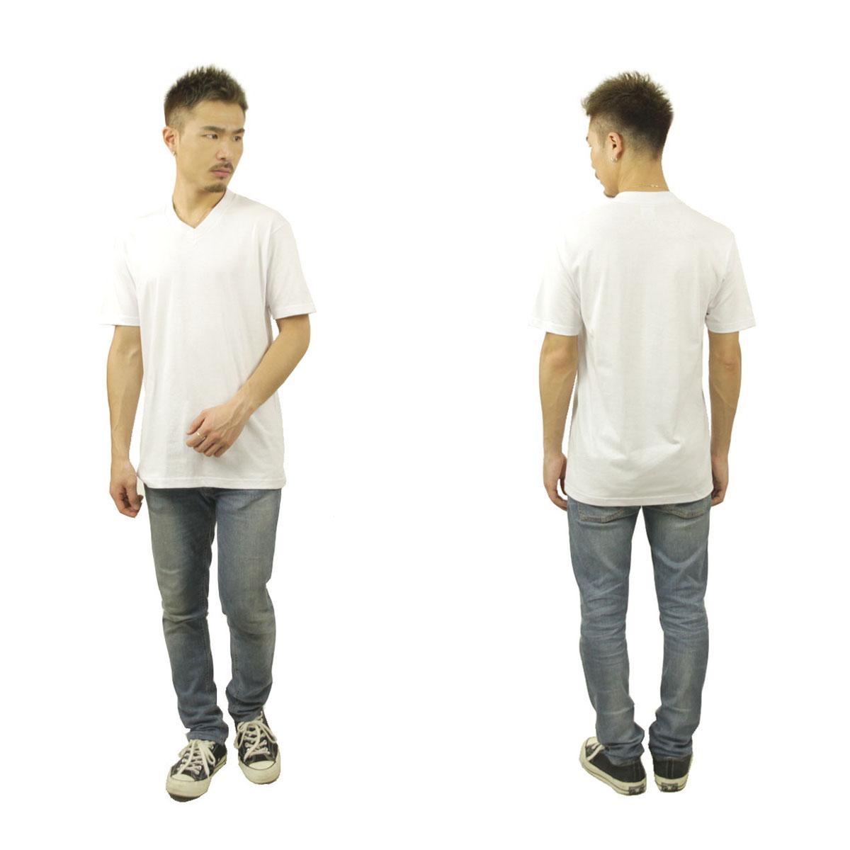 プロクラブ Tシャツ メンズ 正規販売店 PROCLUB 半袖Tシャツ VネックTシャツ COMFORT SHORT SLEEVE V-NECK TEE WHITE #106 AB6B B1C C1D D1E E01F