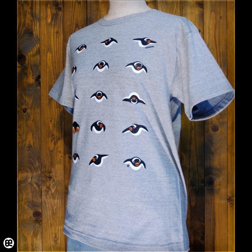 じぇんつー軍団:ヘザーグレー:Tシャツ