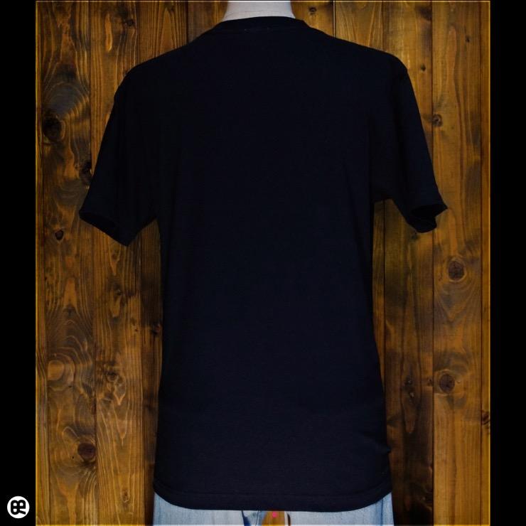 除霊団:ブラック:Tシャツ