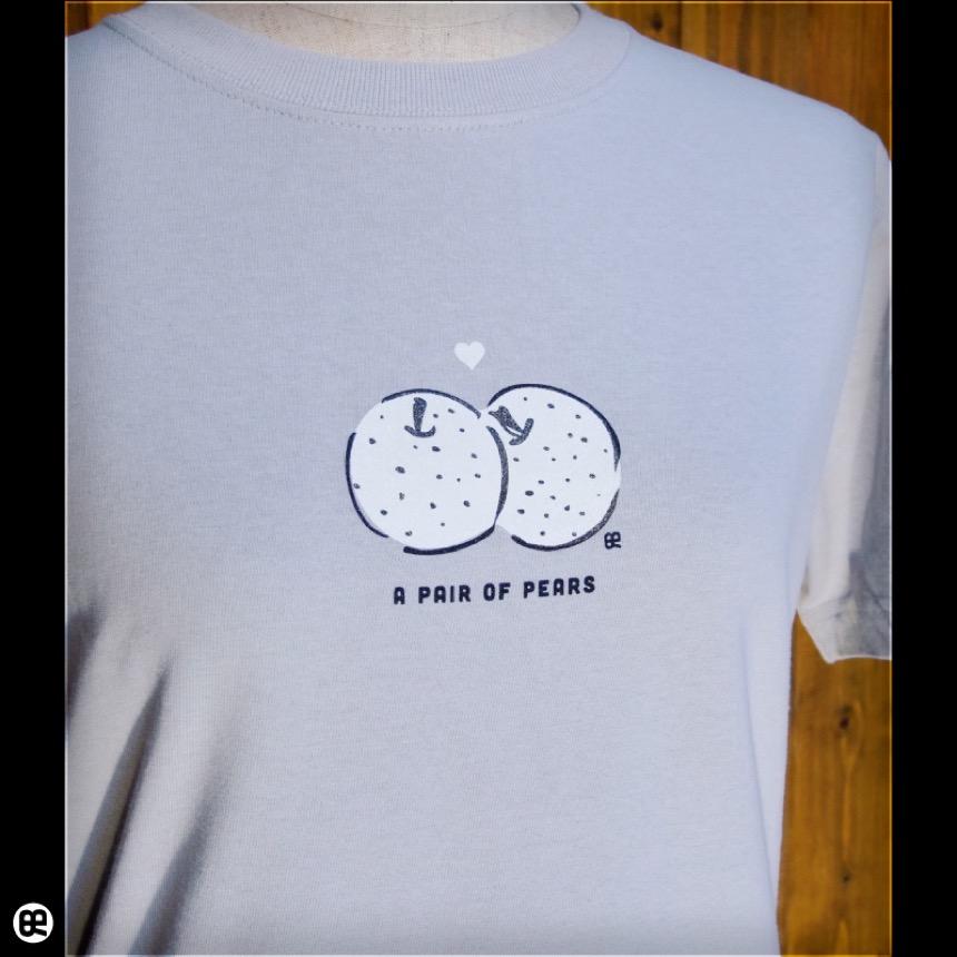ペアペア:シルバーグレー:Tシャツ