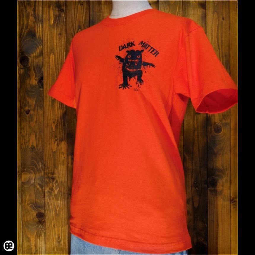 ダークマターくん:オレンジ:Tシャツ
