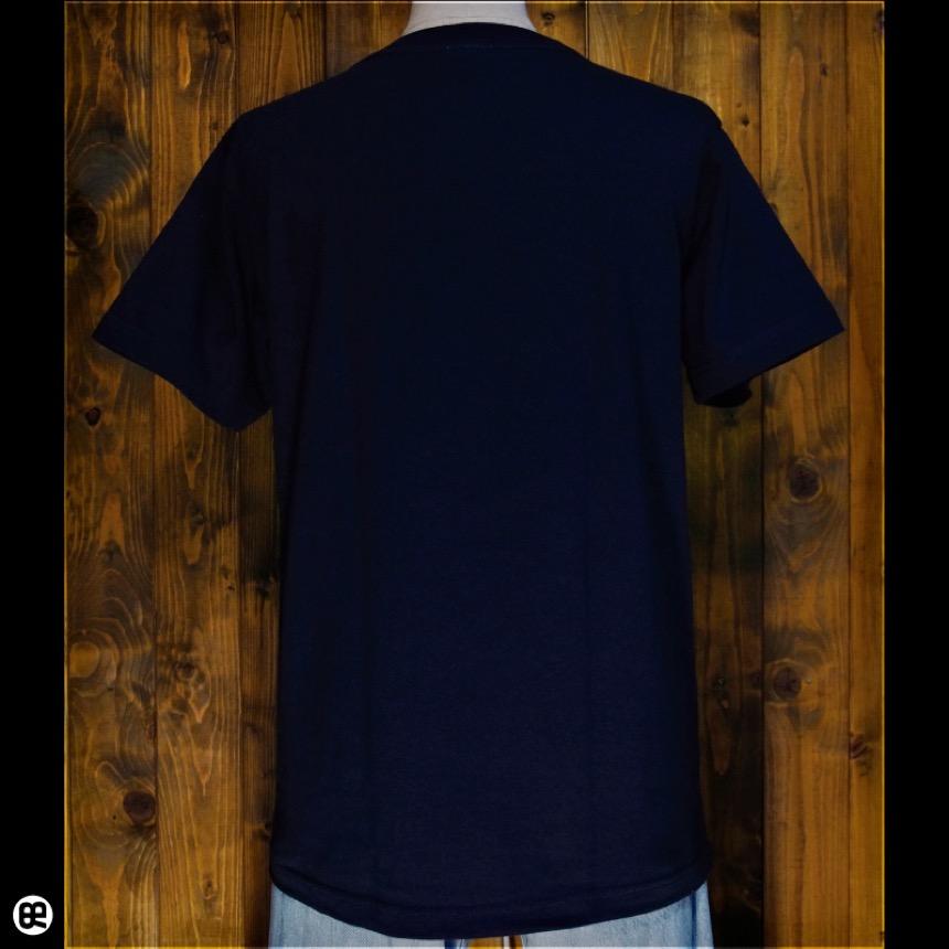 鉄砲:ネイビー:Tシャツ