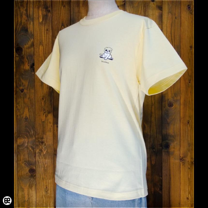 すこちゃん:イエローヘーゼ:Tシャツ