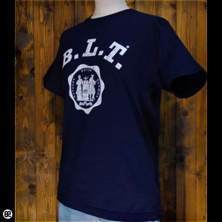 B.L.T:ネイビー:Tシャツ