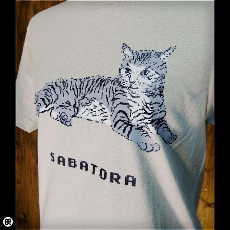 サバトラドット : ストーン:Tシャツ