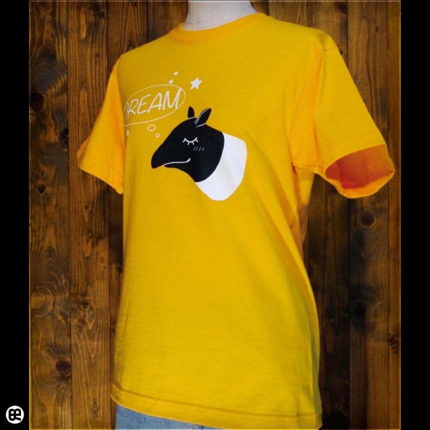 モノクロドリーマー:ゴールドイエロー:Tシャツ