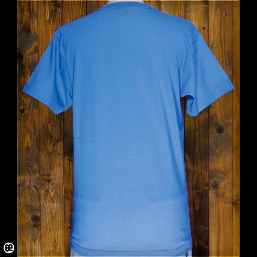 元気が出るTシャツ:ブルー:Tシャツ