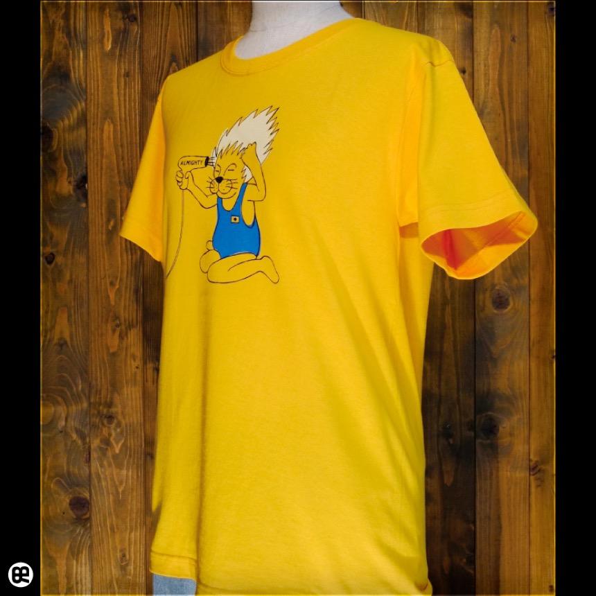 ヘアブロー:ゴールドイエロー:Tシャツ