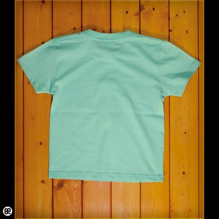 キッズTシャツ:きりん : メロン:5.6オンス