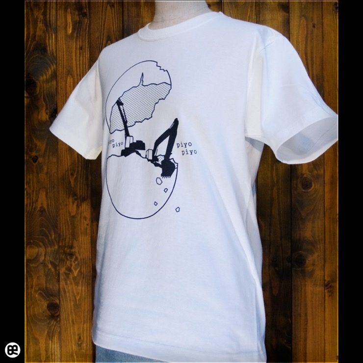 piyo piyo:ナチュラル:Tシャツ