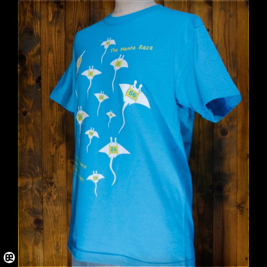 エイ!:カリビアンブルー:Tシャツ