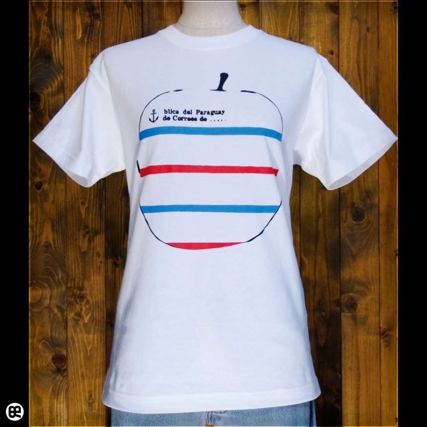 マリンゴ:ホワイト:Tシャツ