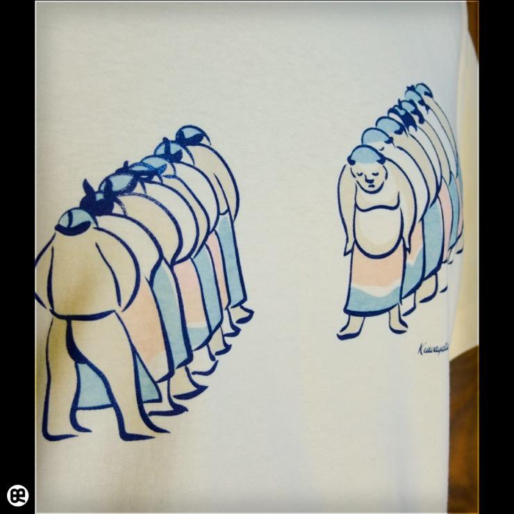 土俵入り:イエローヘーゼ:Tシャツ