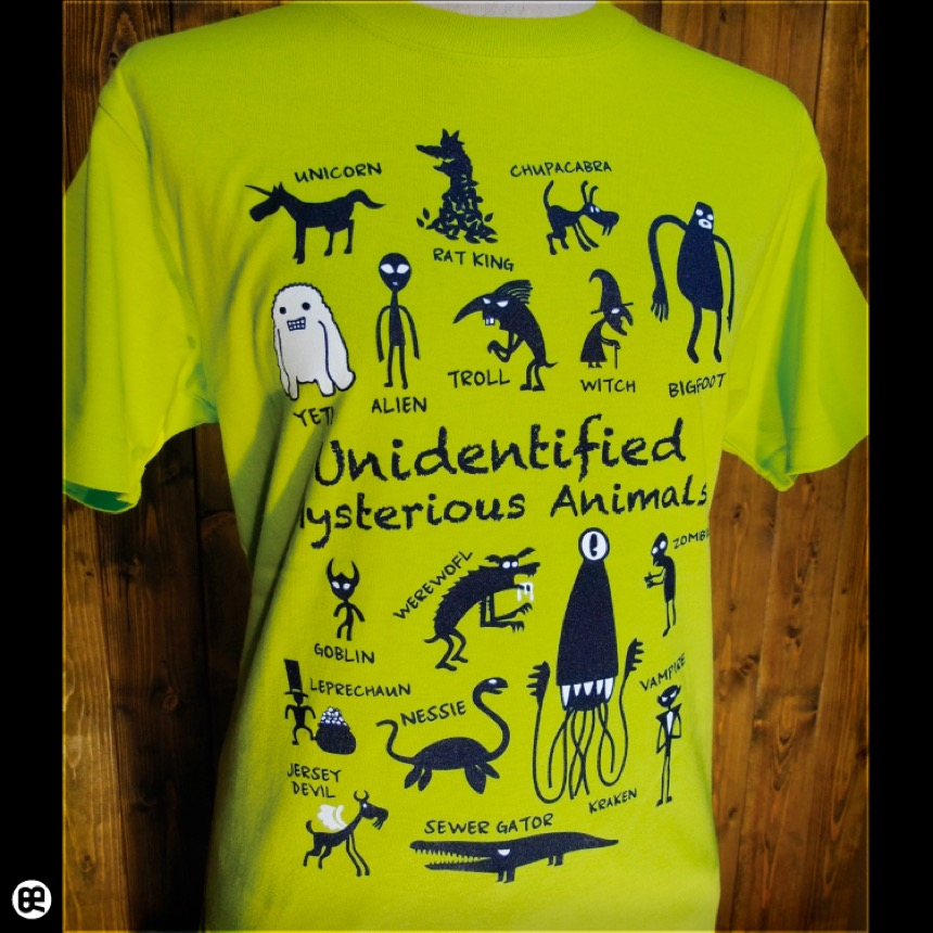 UMA(NG):ネオングリーン:Tシャツ